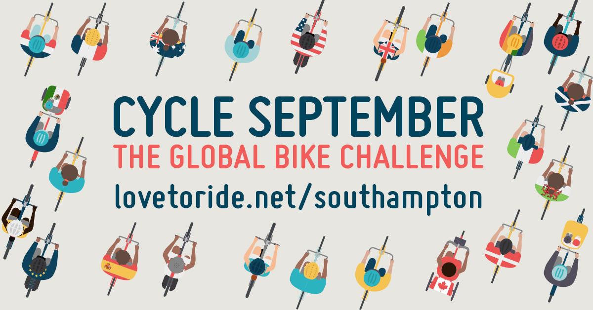 Cycle September - The Global Bike Challenge - lovetoride.net/southampton