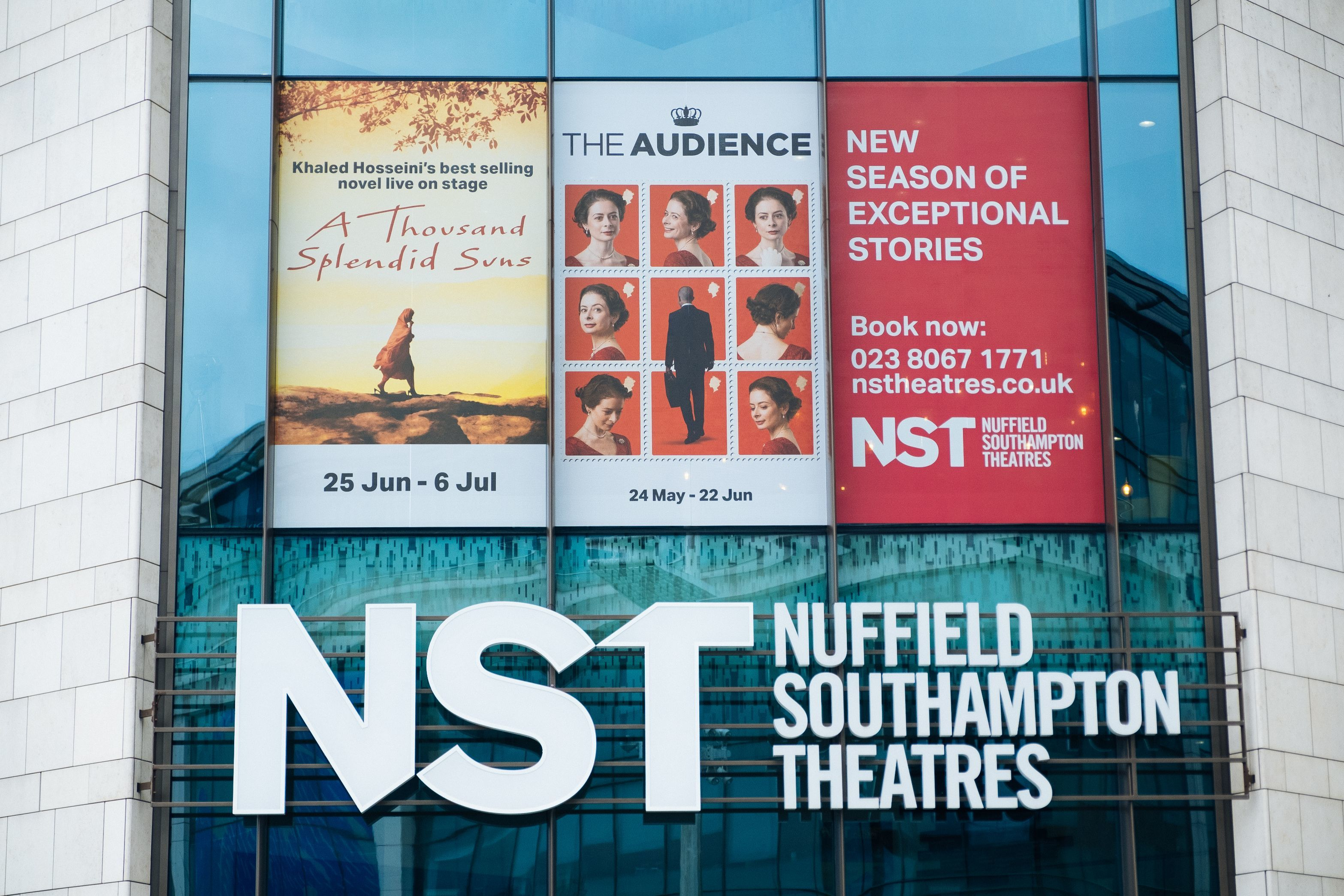exterior of Nuffield Southampton Theatres