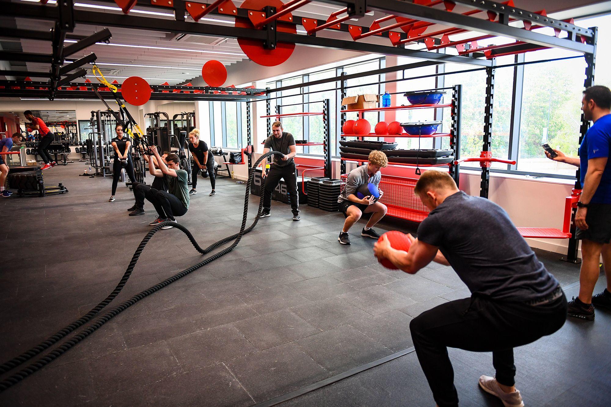 Solent University Sports Complex public gym