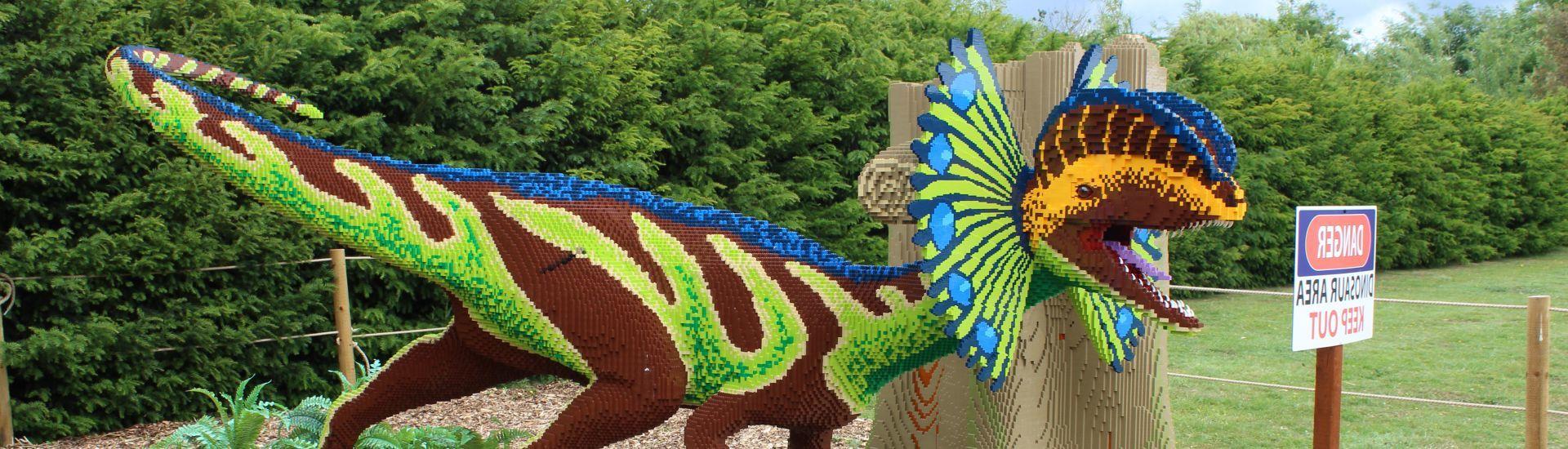 Get Brickosaur Hunting at Marwell this Summer!
