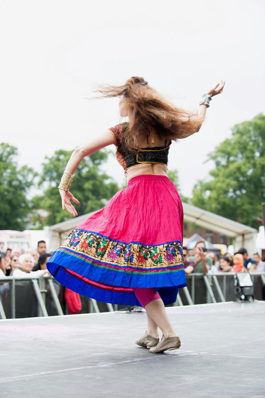 Mela Festival Southampton Dancer
