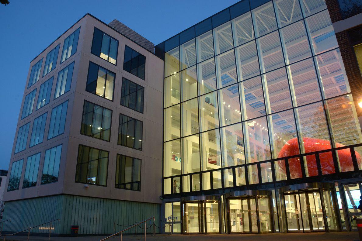 exterior of Southampton Solent University Spark Building