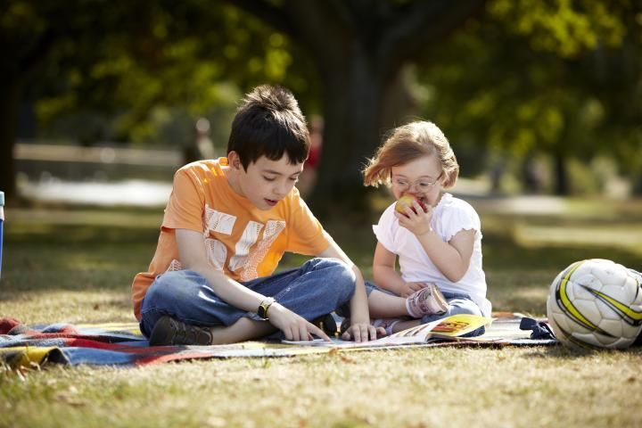 children in the park