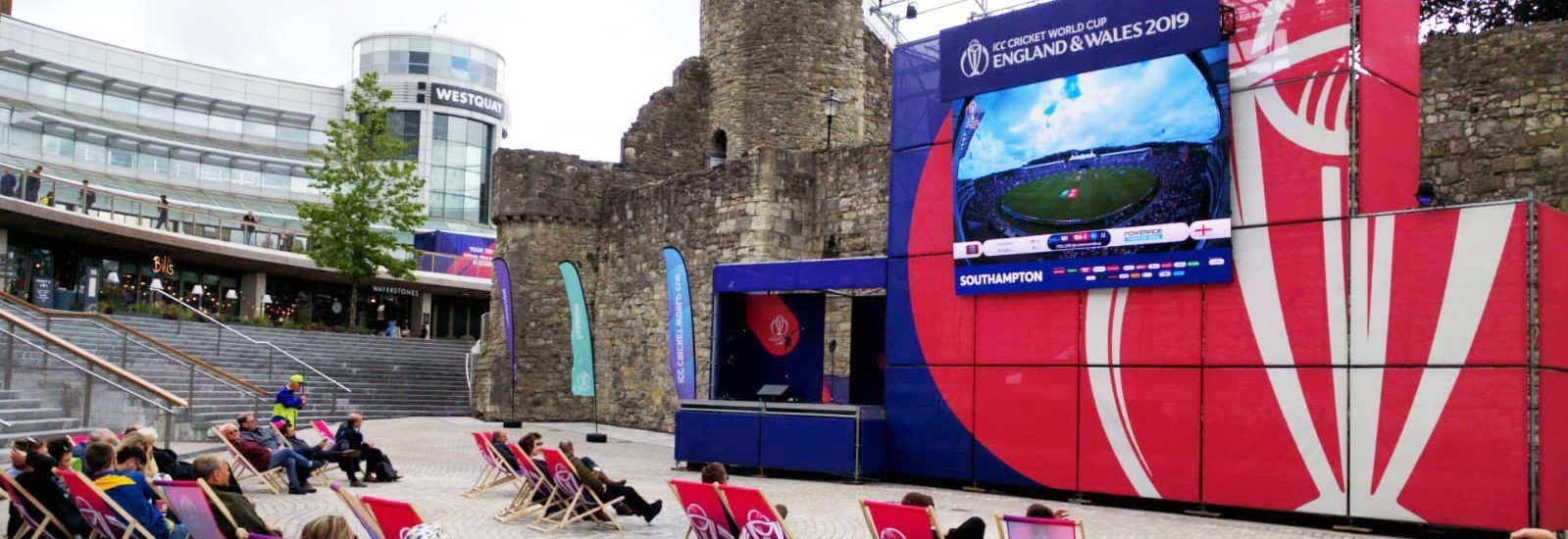 The Cricket World Cup in Southampton