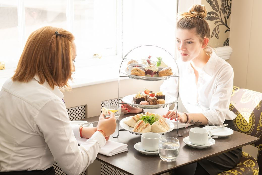 Afternoon tea for £10pp