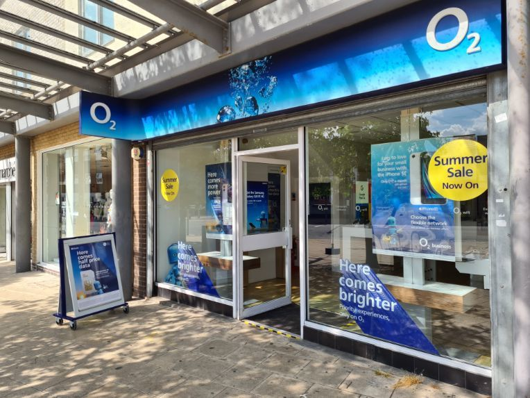 20% off Accessories at O2 Shirley