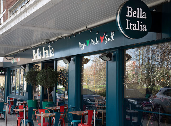 Bella Italia (Hanover Buildings)