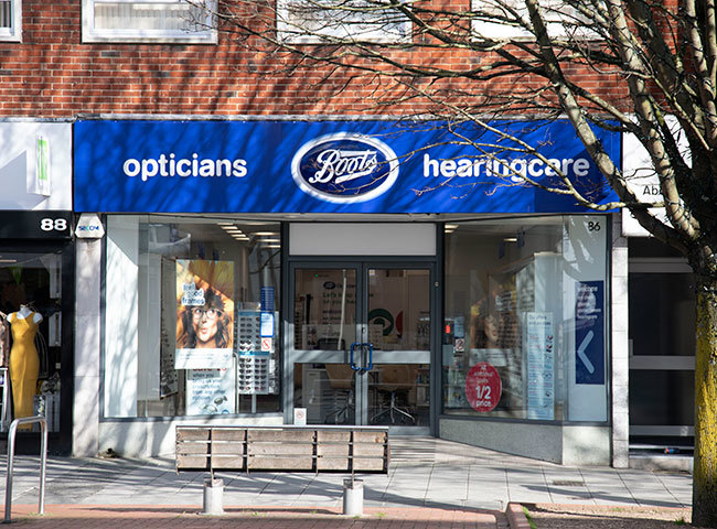 Boots Opticians (Above Bar St)