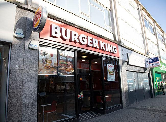 Burger King (Bar St)