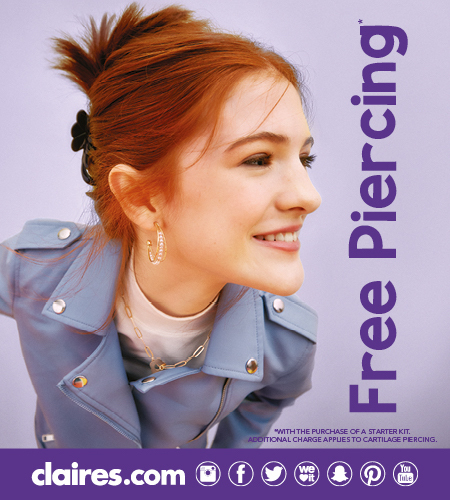 Free Piercing at Westquay
