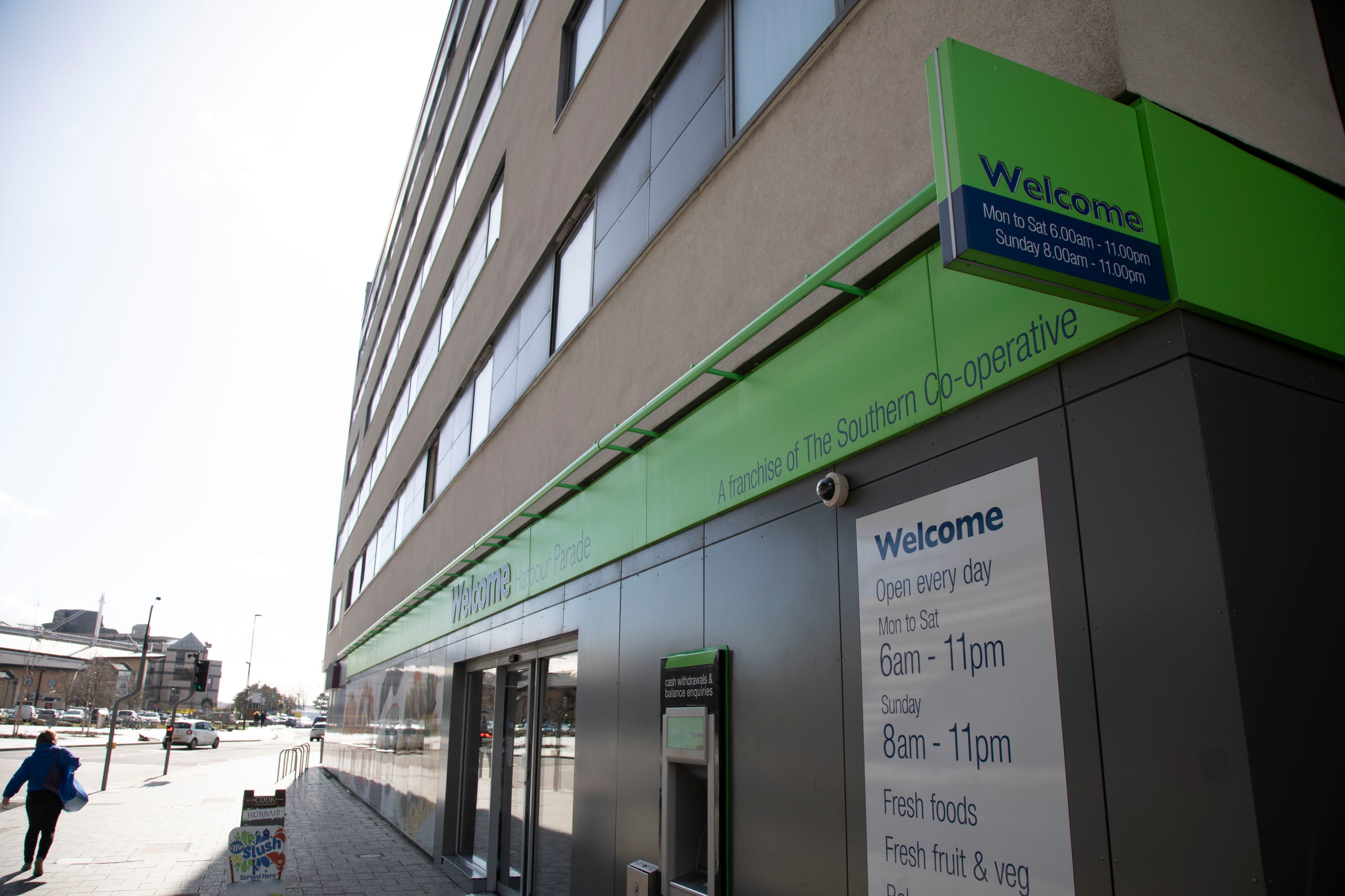 Welcome - Harbour Parade (Southern Co-op)