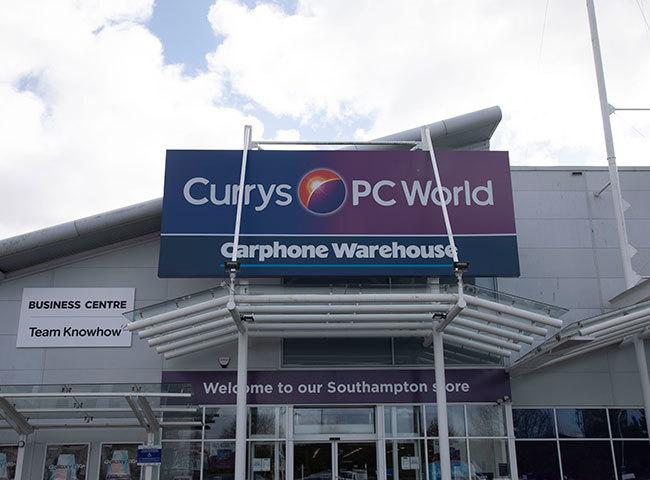 Carphone Warehouse (Currys PC World)