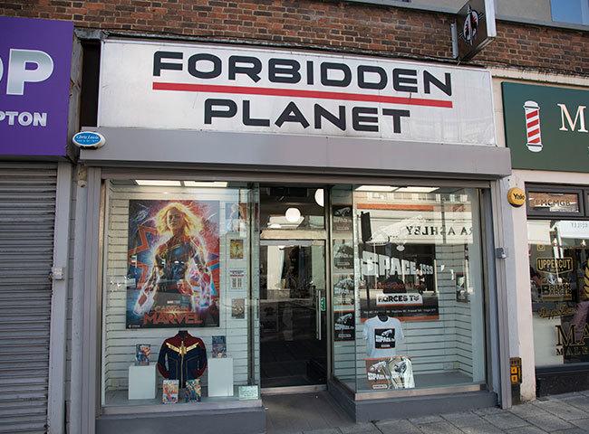 Forbidden Planet hero