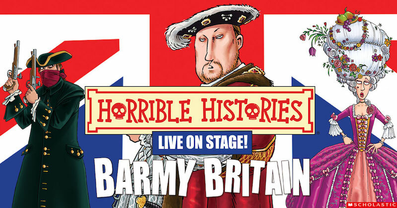 Special offer tickets for £15 to see Barmy Britain evening performances on 8th and 9th December