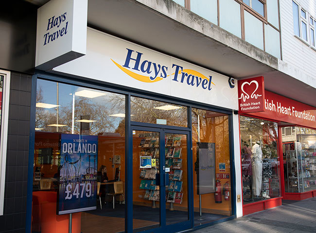Hays Travel (Above Bar Street)