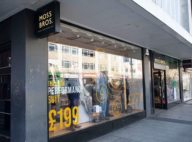 Moss Bros (Bar St)
