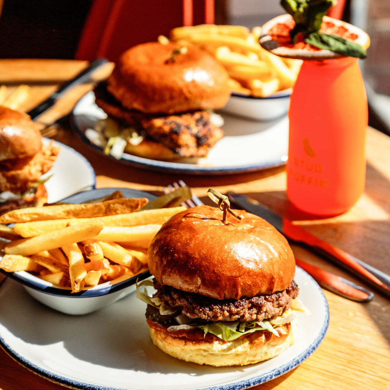40% off food and drink all day everyday!