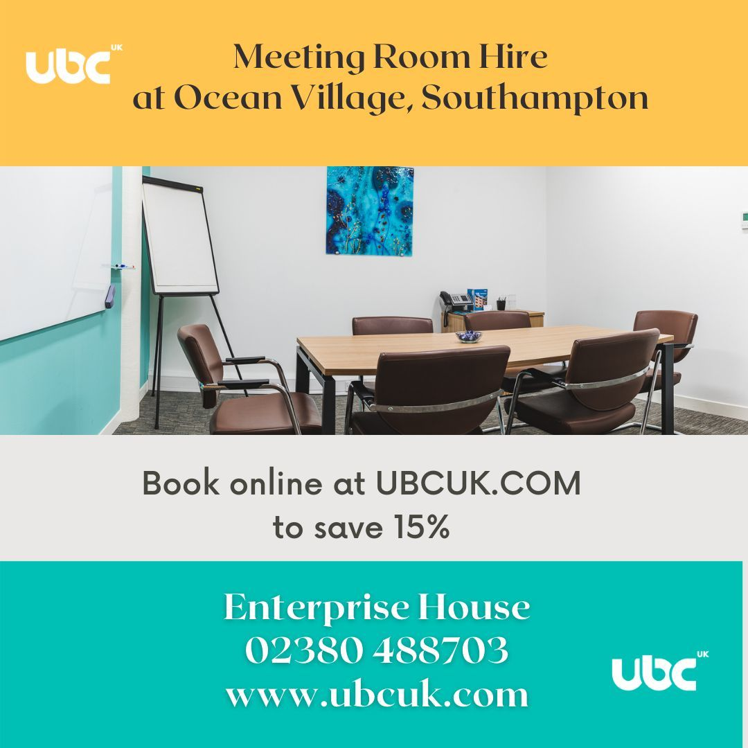 15% off meeting room bookings + a free coffee for all guests at UBCUK