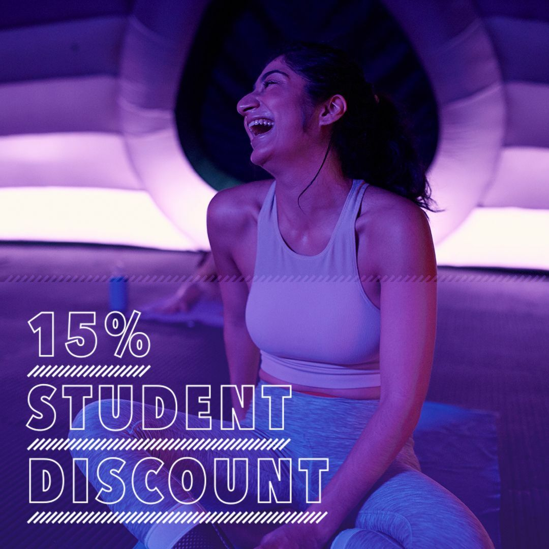 STUDENT ONLY OFFER: 15% off all class passes and memberships
