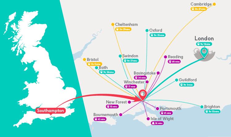 Southampton Region Map FINAL