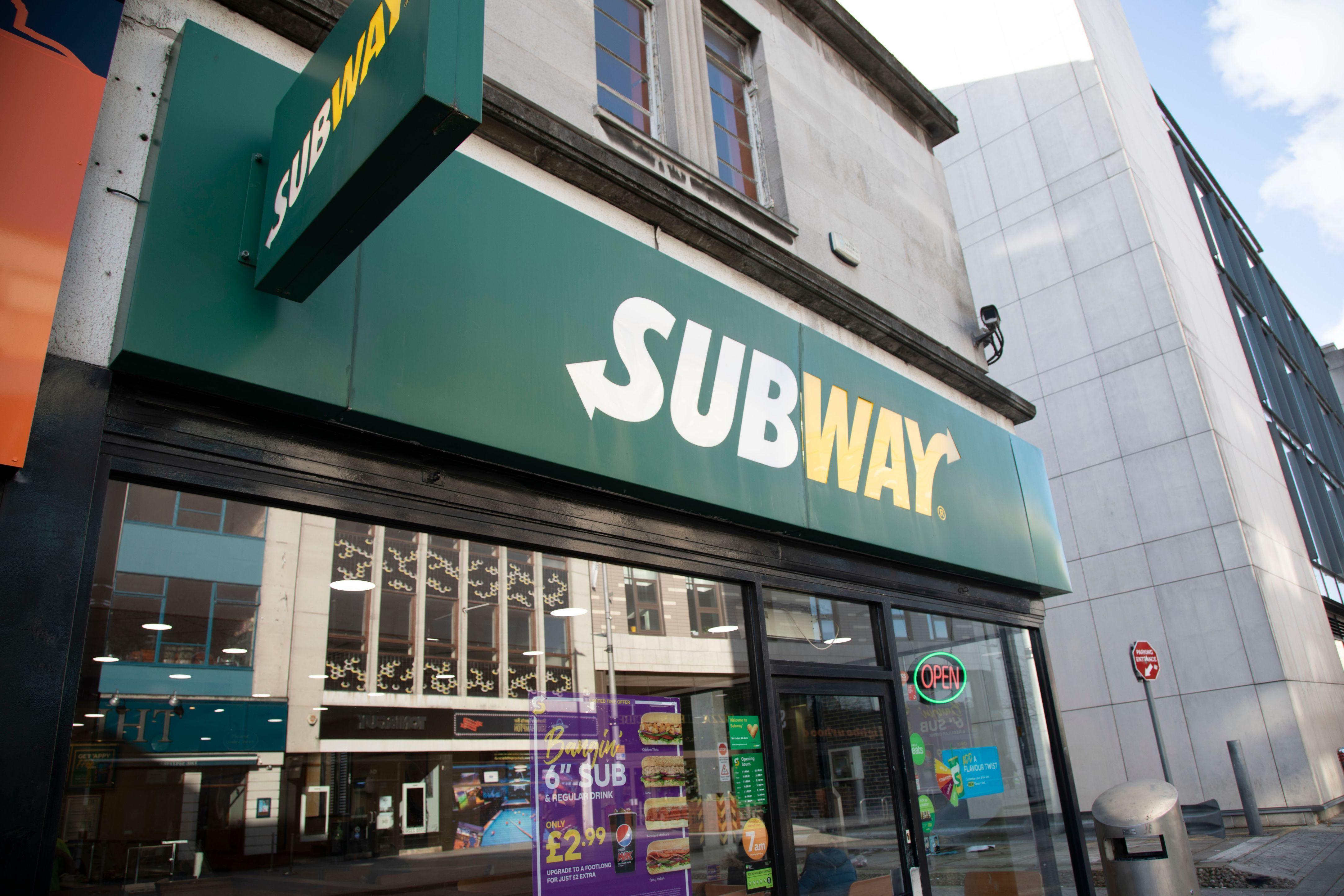 Subway (East St)