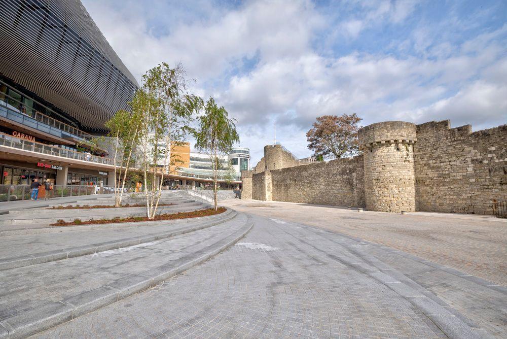 Oldtown City walls, Southampton