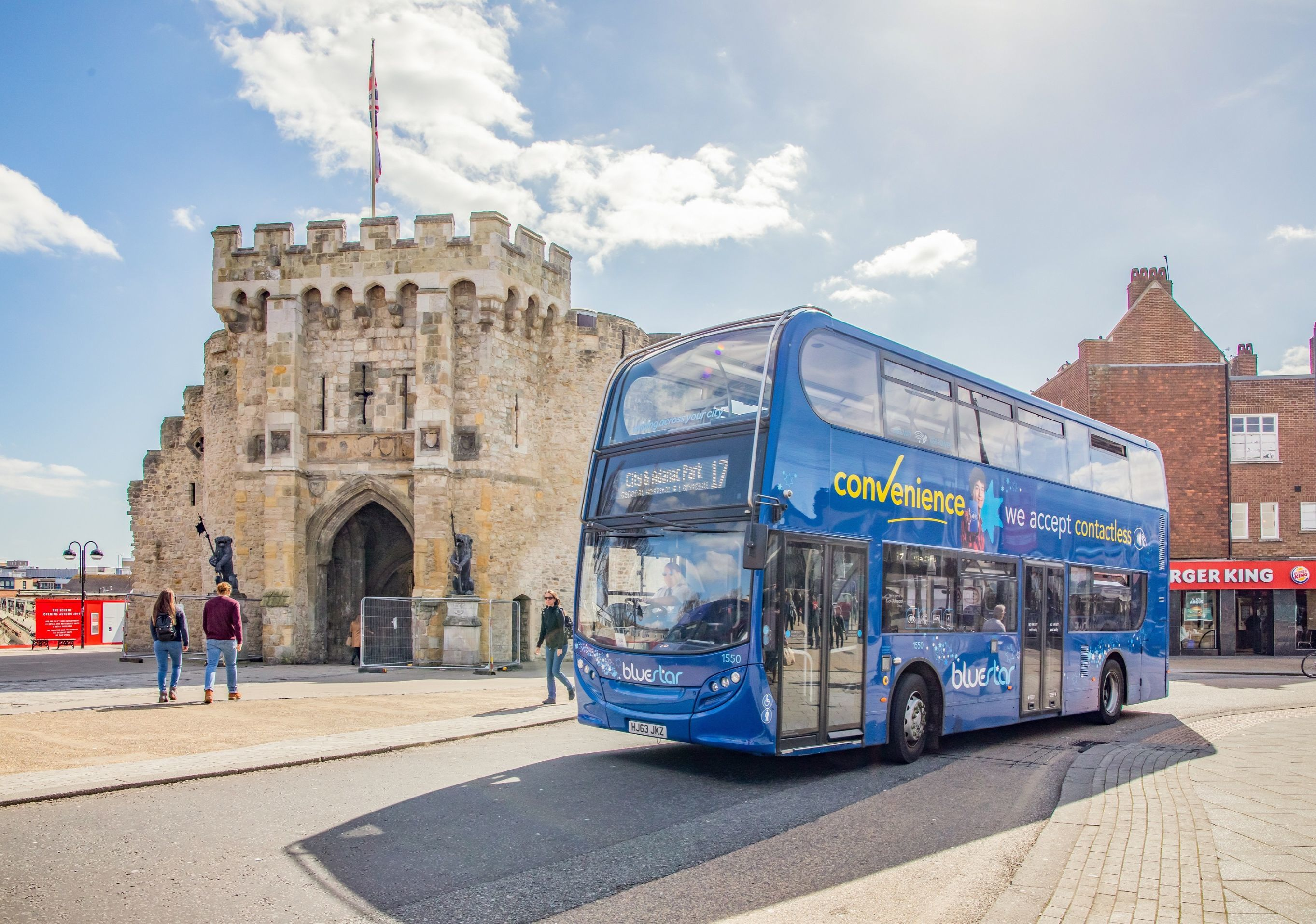 Travel by bus in Southampton and make the Bluestar Promise!