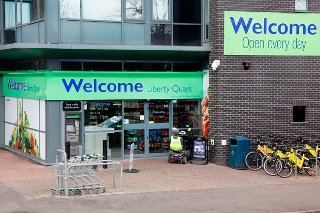 Coop Welcome Liberty Quays