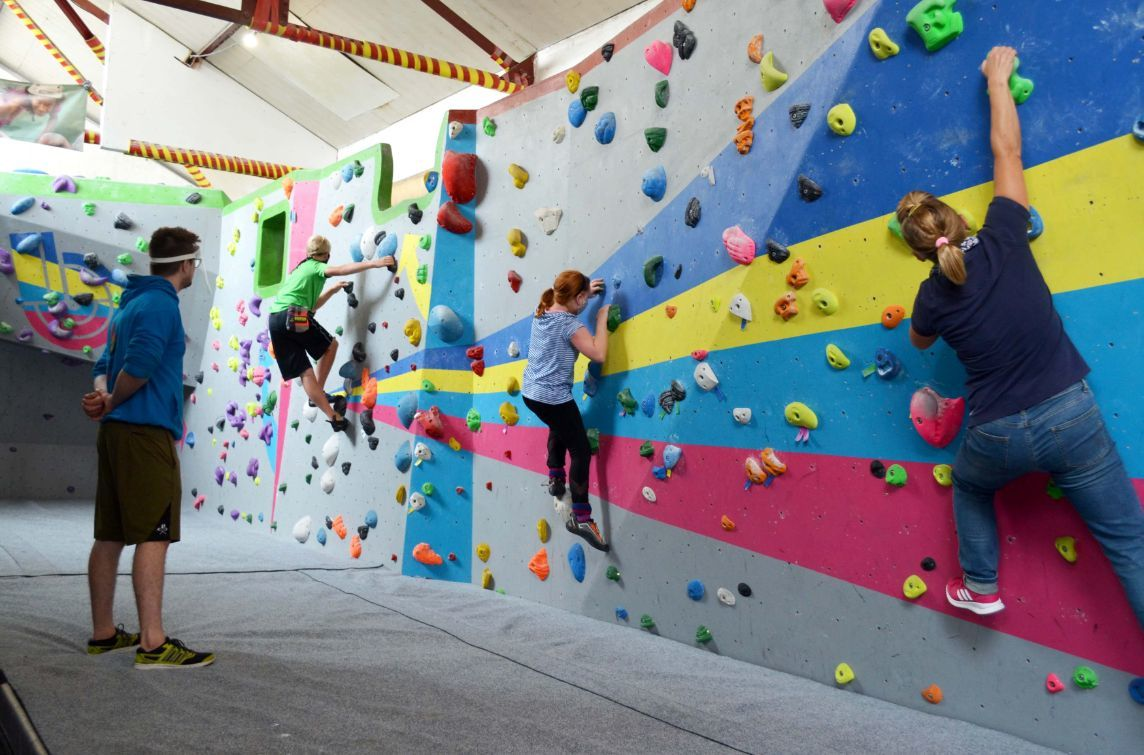50% off your induction, climb or pizza at Boulder Shack Climbing Gym