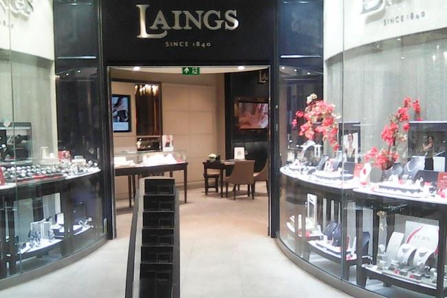 Laing's the Jeweller Southampton