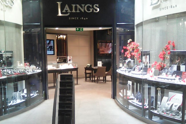 Laing's the Jeweller Southampton