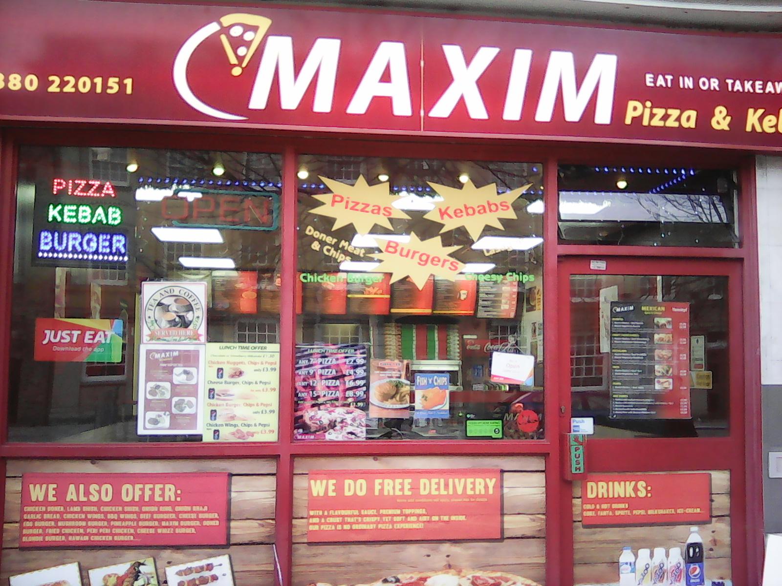 Maxim Pizza And Kebab Visit Southampton