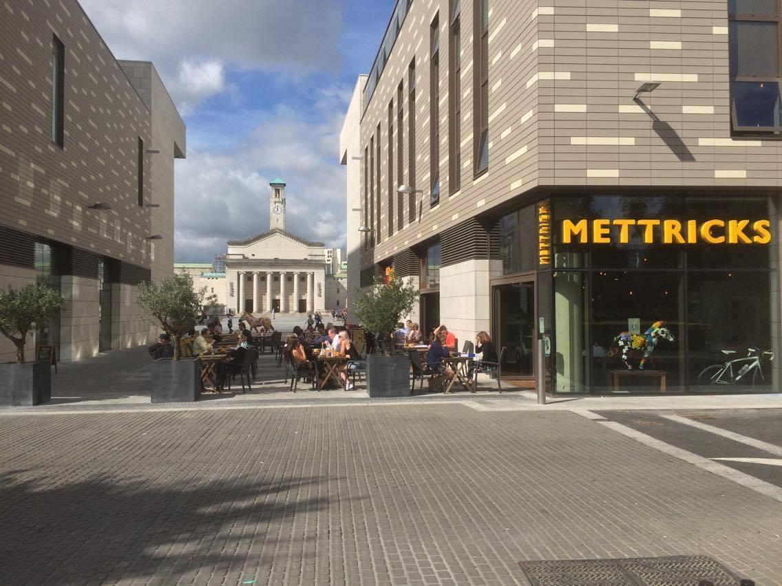 exterior of Mettricks