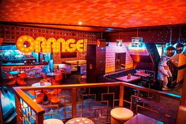 Orange Rooms