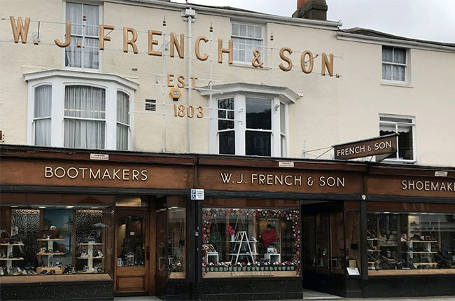 exterior of W.J. French & Son