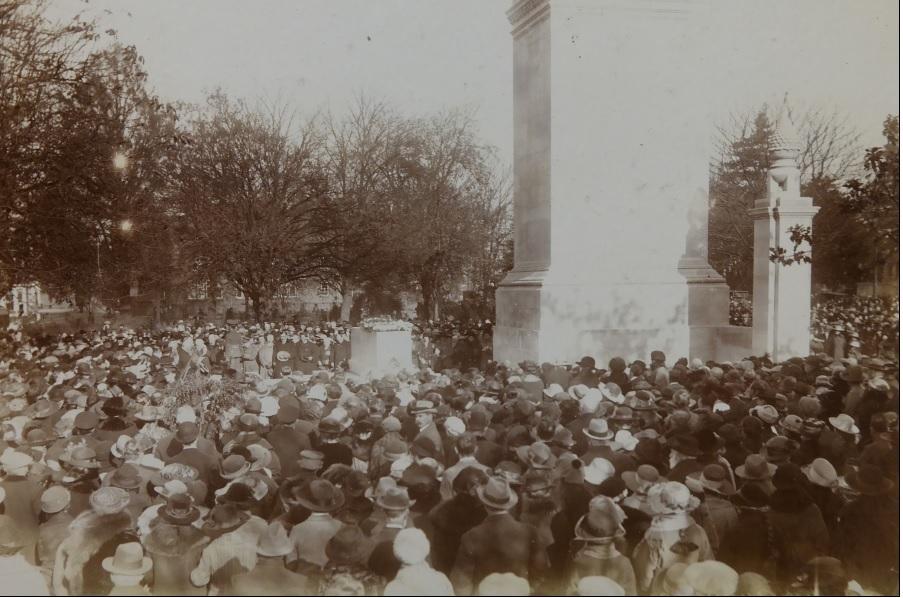 Cenotaph Service 1921