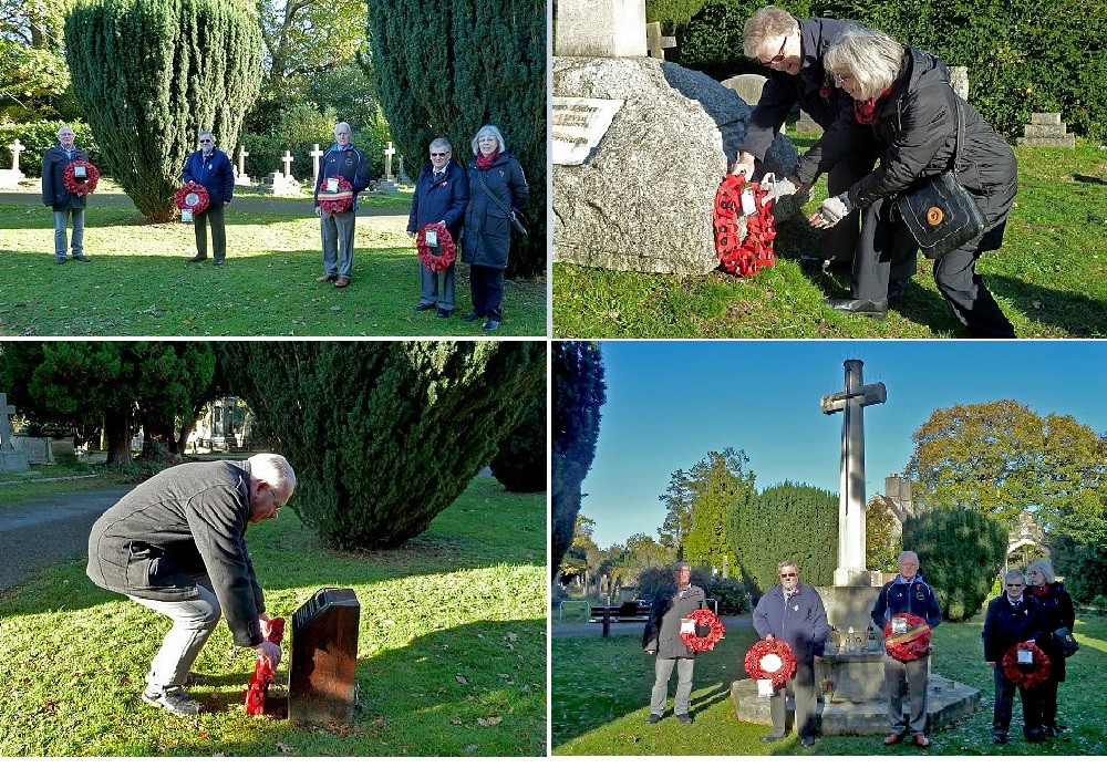 Fo SOC Remembrance Wreath Laying 2020