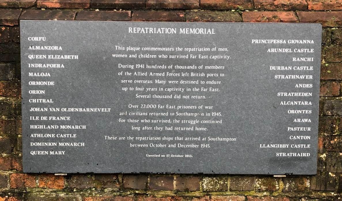 Repatriation Memorial at TQ Park