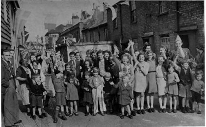 VE Day Street party medium cropped