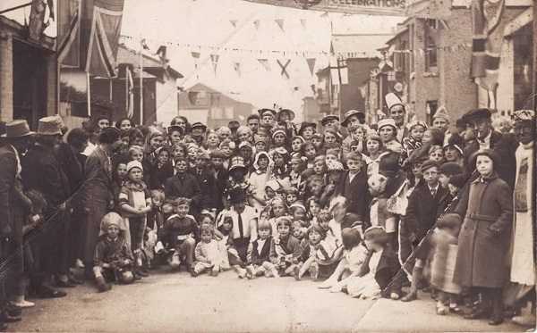 VE Day street party 2