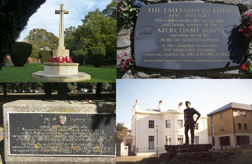 War memorials image