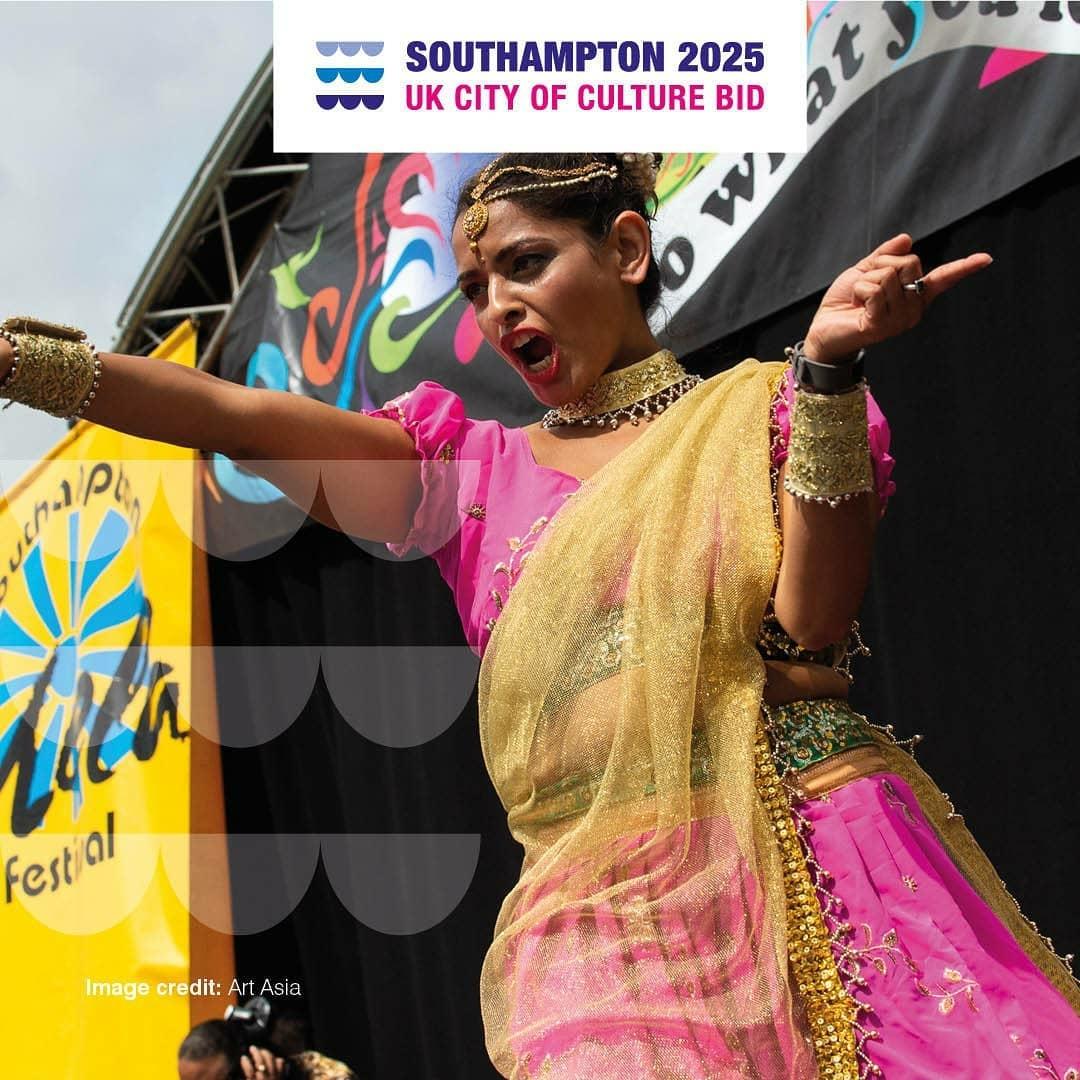 Art Asia Mela Festival Woman Dancing
