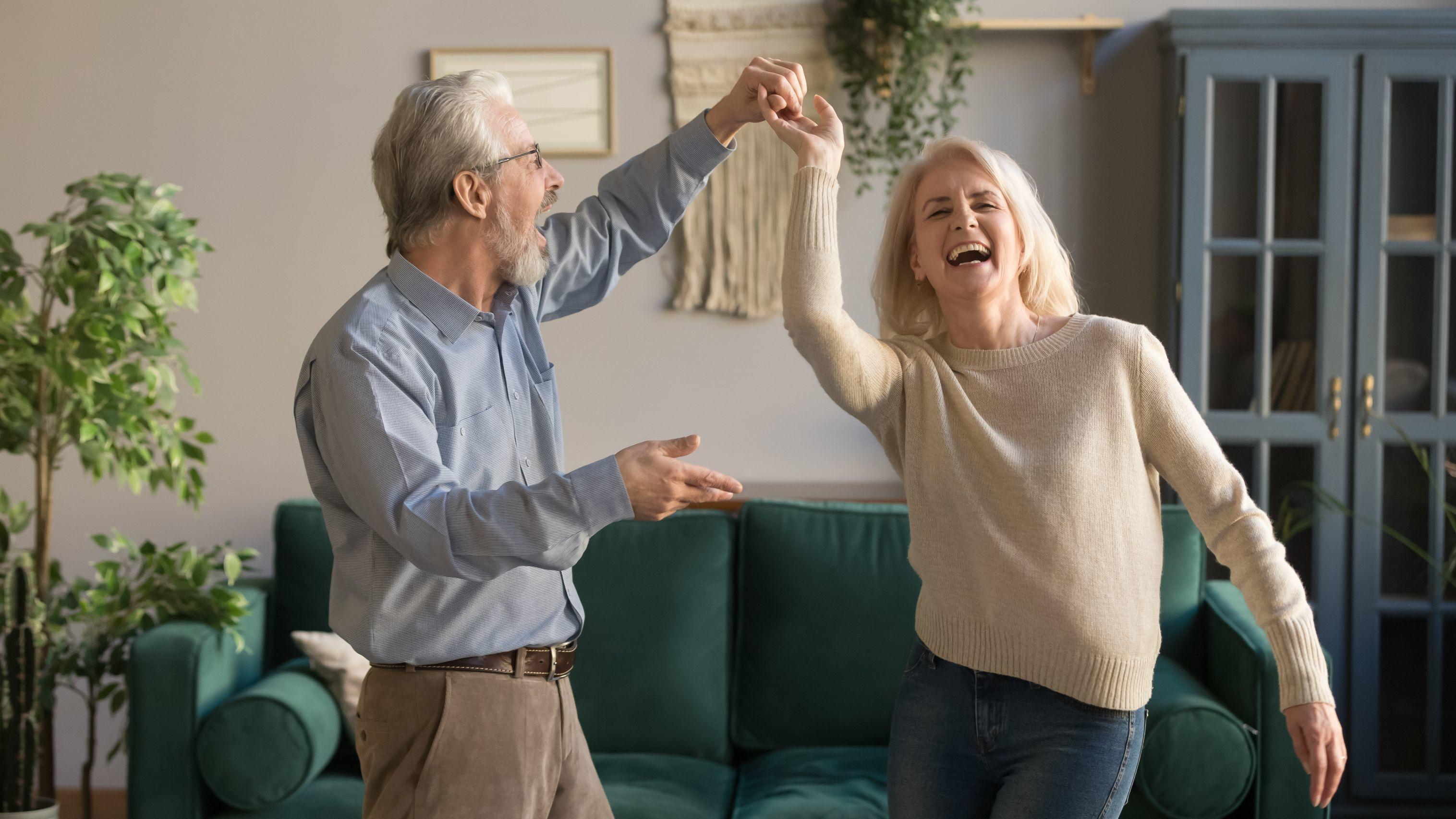 Mature Couple Dancing