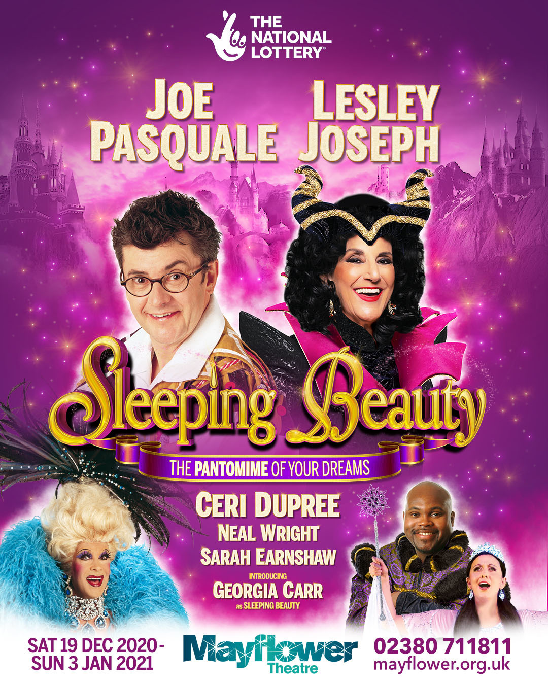 Sleeping Beauty Christmas Panto Advert