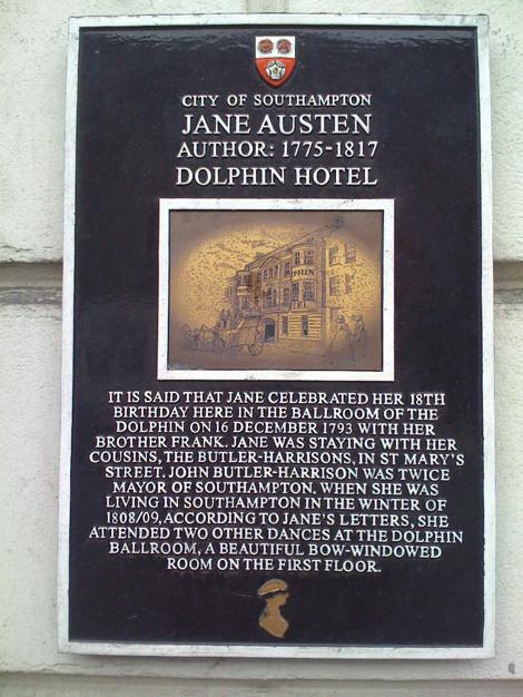 Southampton-Jane-Austen-History Plaque.jpg