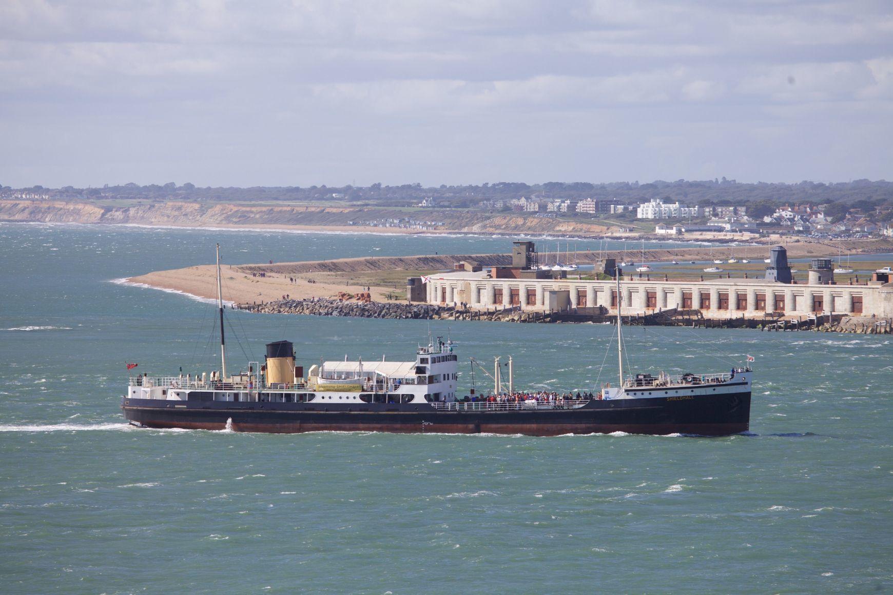 Steamship Shieldhall credit Martin Perry