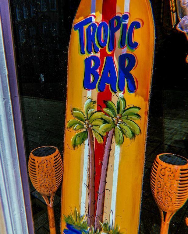 Tropic bar Southampton sign