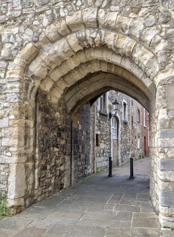 Old Alleyway in Southampton